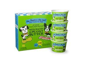 The Bear & The Rat Bacon Peanut Butter 4-Pack Frozen Yogurt Treats