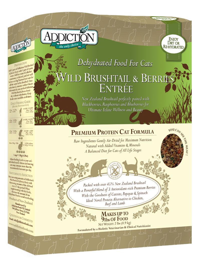 Wild Brushtail & Berries Entrée for Cats, 2 lbs