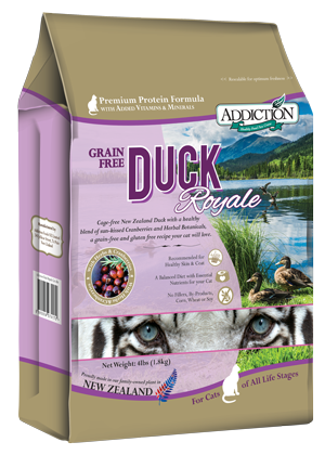 Duck Royale for Cats, 4 lbs