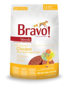 Bravo Chicken Blend Patties, 5 lb