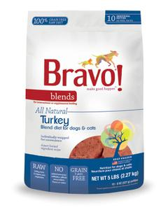 Bravo Turkey Blend Patties, 5 lb