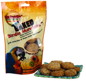 Caitec Baked Birdie Munchies - Tropical Fruit