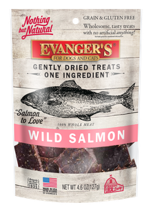 Nothing But Natural Gently Dried Salmon Treats for Dogs & Cats, 4.6 Oz.