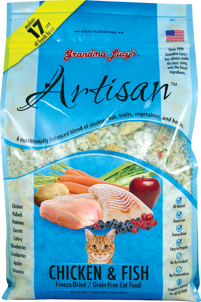 Grandma Lucy's Artisan Chicken & Fish Cat Food