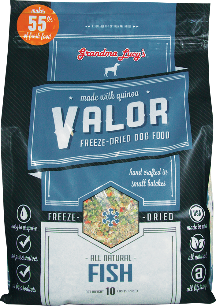 Grandma Lucy's Valor Fish Dog Food