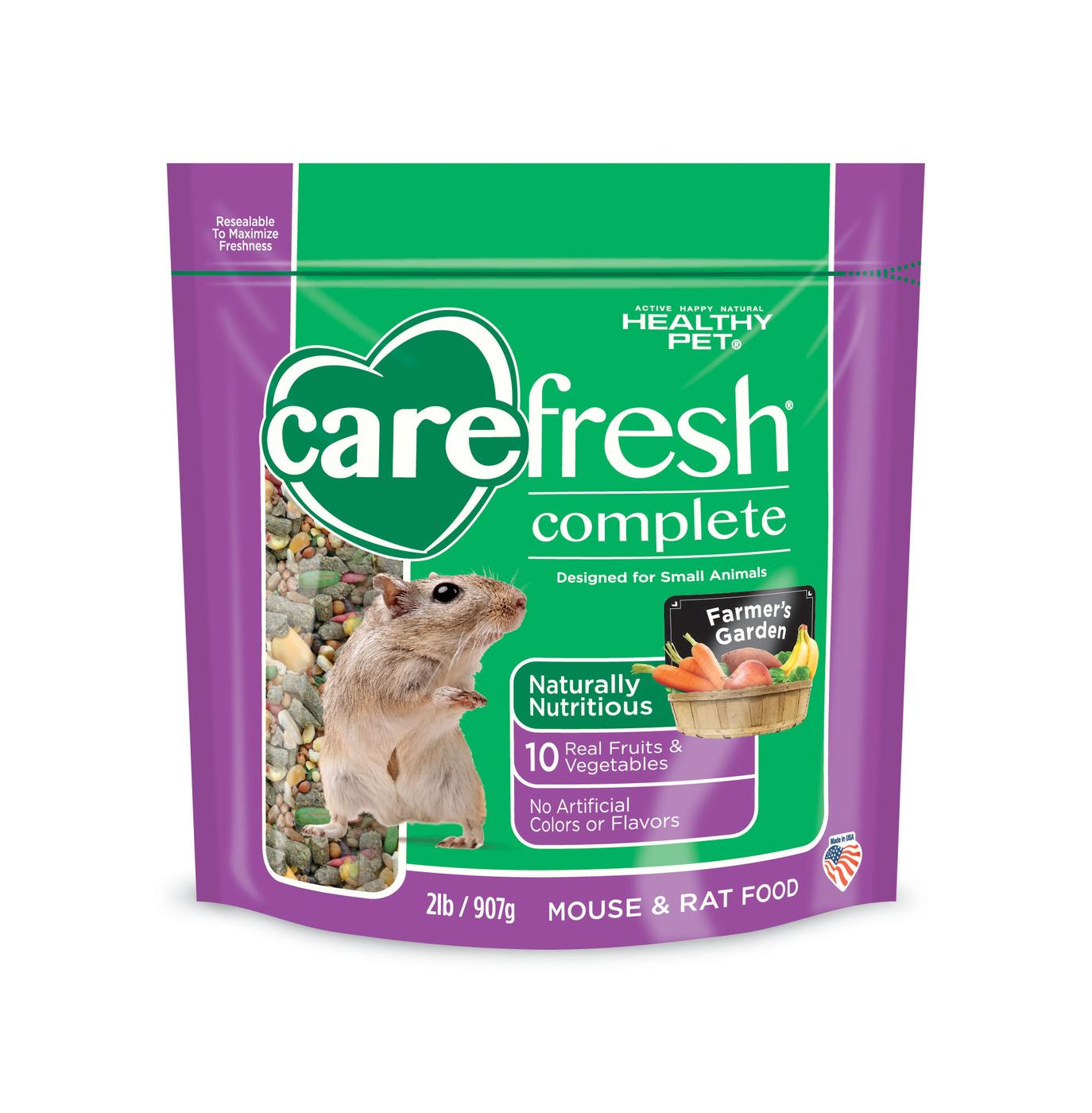 Carefresh® Complete Rat & Mouse Food