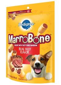 Pedigree Marrobone Real Beef Flavor Snacks For Dogs 8.46 Ounces