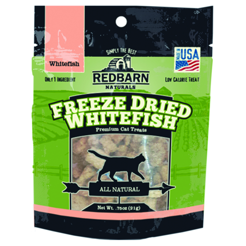 Redbarn Freeze Dried Whitefish Cat Treats