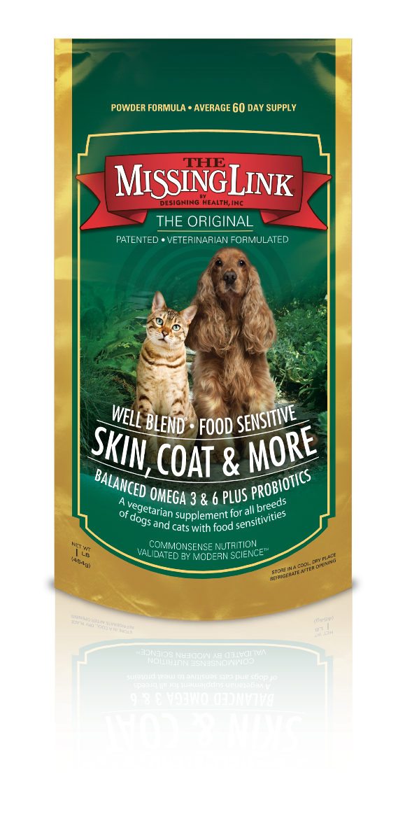 The Missing Link® Well Blend Food Sensitive Skin, Coat & More for Dogs & Cats, 1 lb