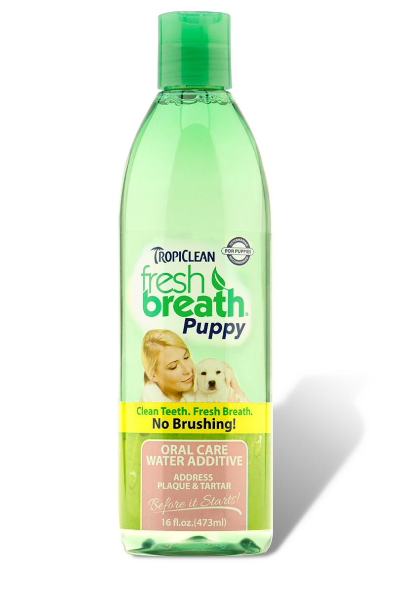 TropiClean Oral Care Water Additive for Puppies, 16 oz.