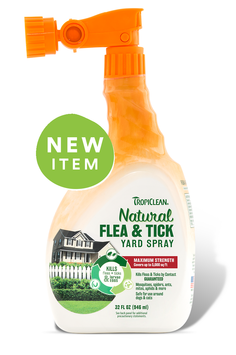 TropiClean Natural Flea & Tick Yard Spray, 32 oz.