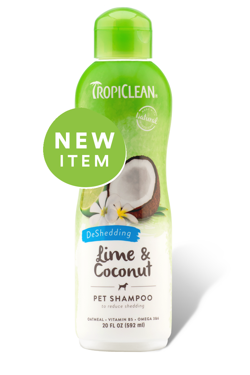 TropiClean Lime & Coconut Pet Shampoo , 20 oz.