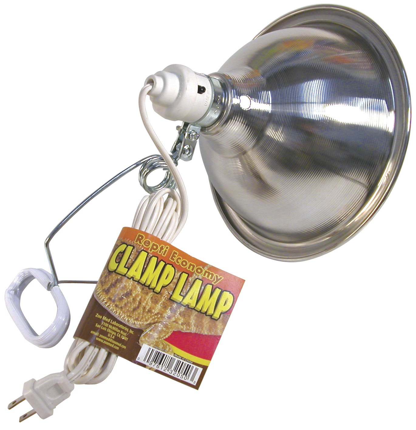 Economy Clamp Lamp, 8.5""