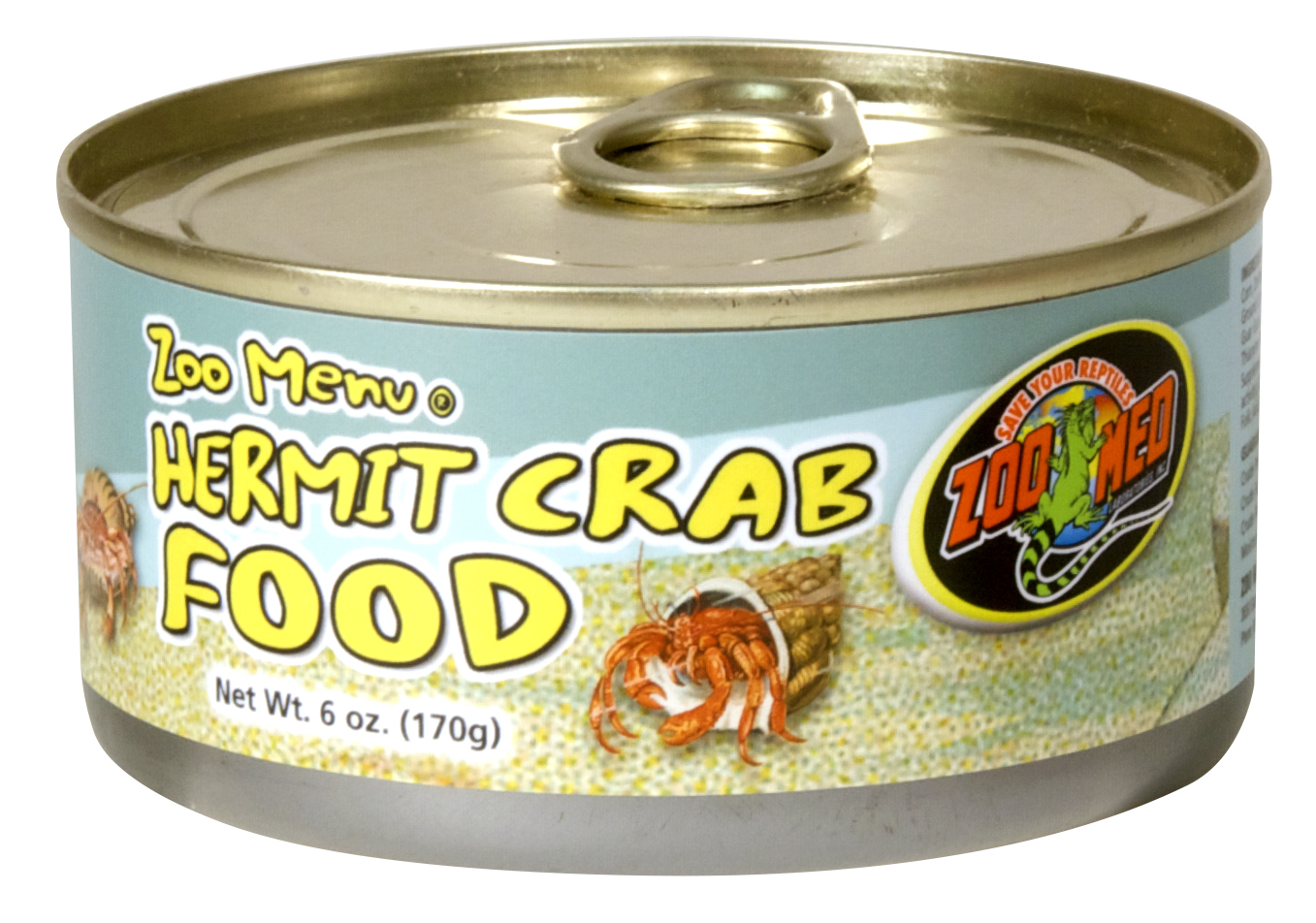 Hermit Crab Food (cans/wet), 6 oz