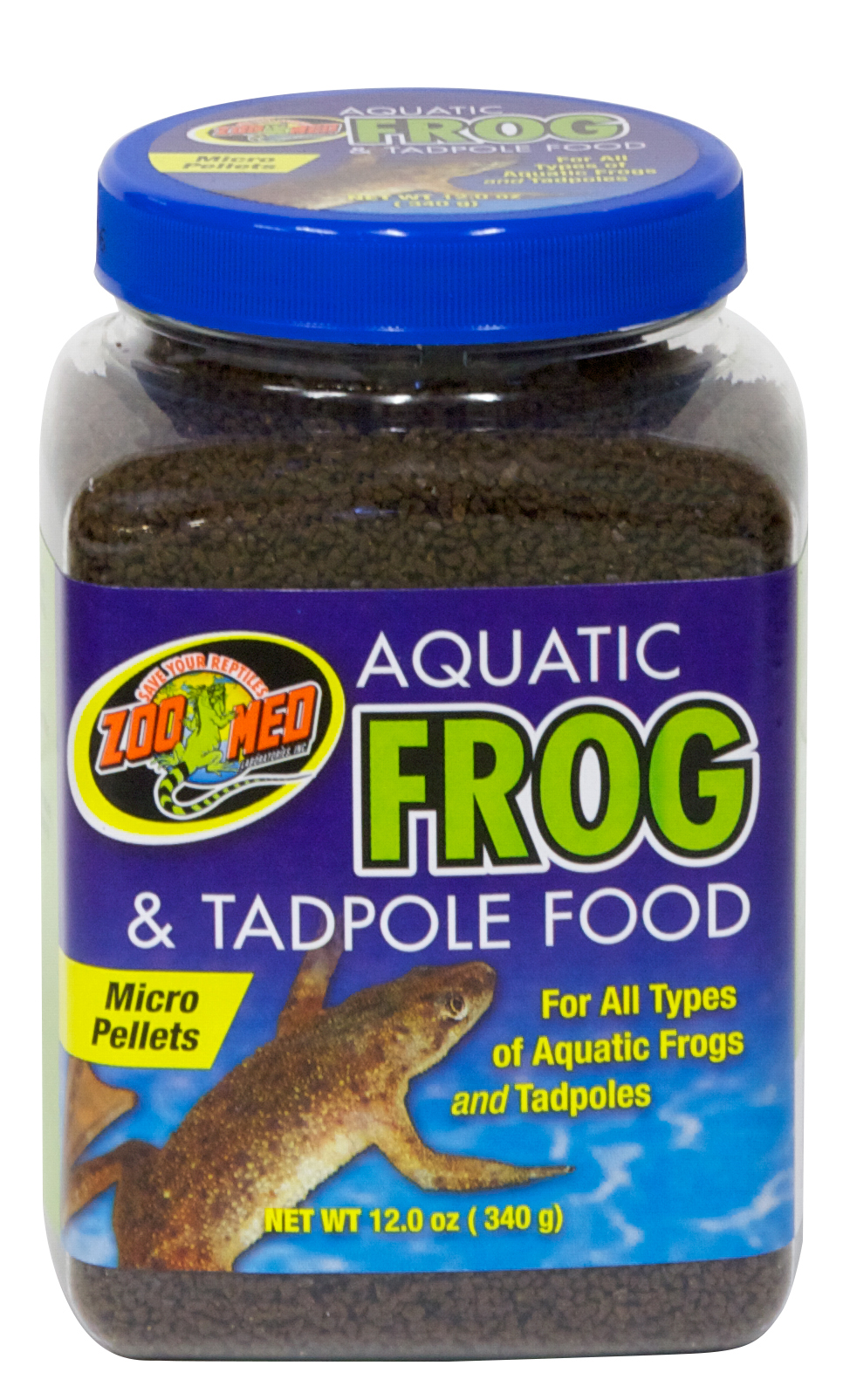 Aquatic Frog & Tadpole Food, 12 oz