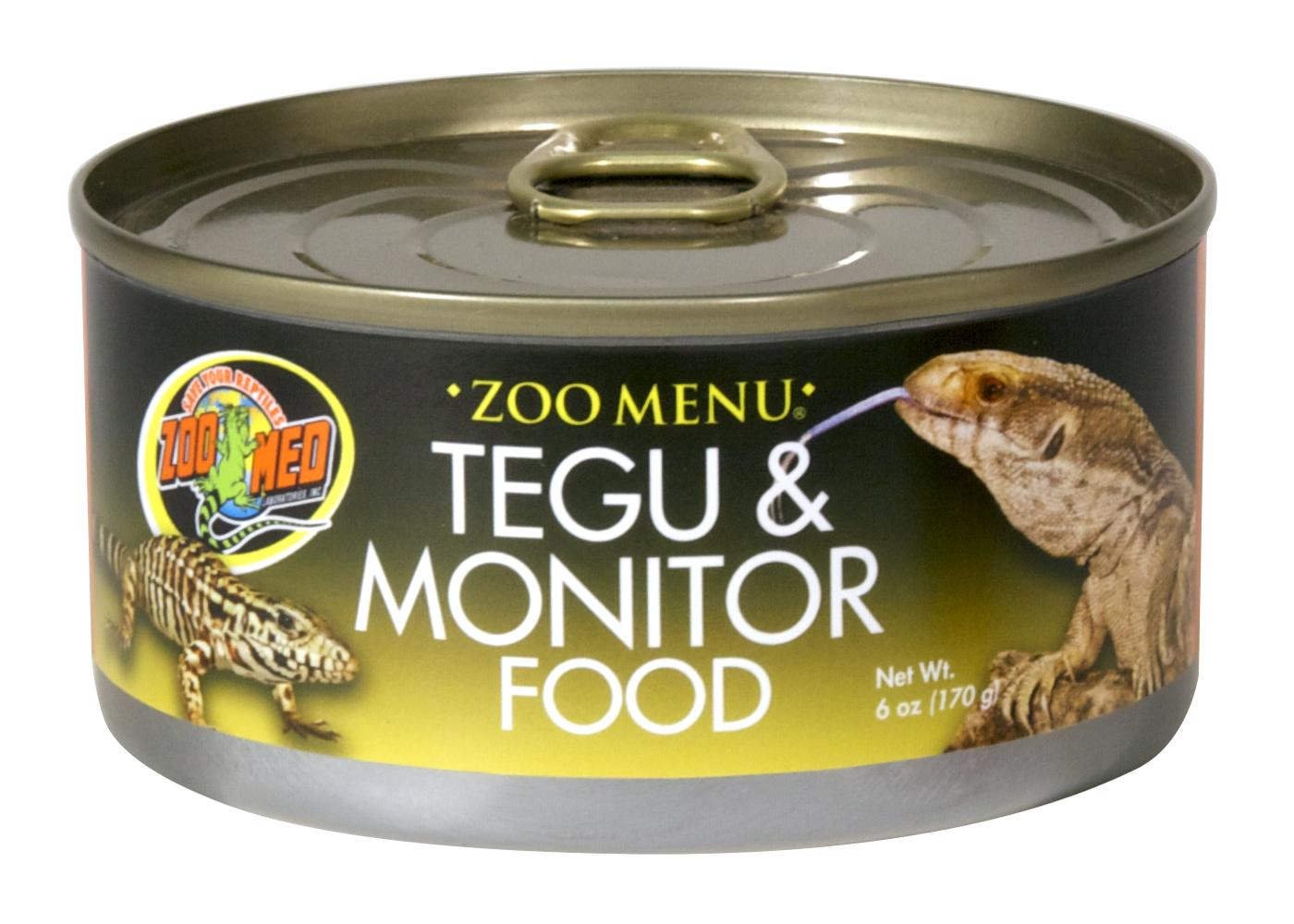 Tegu Monitor Food (cans/wet), 6 oz